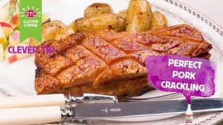 Perfect pork crackling