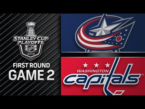 Columbus Blue Jackets vs Washington Capitals – Apr  15, 2018  Game 2  Stanley Cup 2018 Обзор