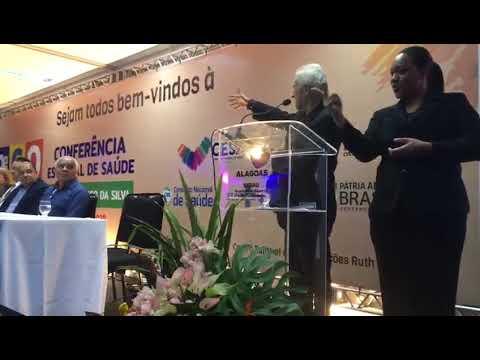 Discurso de agradecimento de Cícero Lourenço durante 9ª Conferência Estadual de Saúde