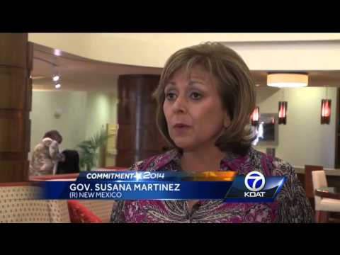 Gov. Martinez reacts to GOP majority in NM House