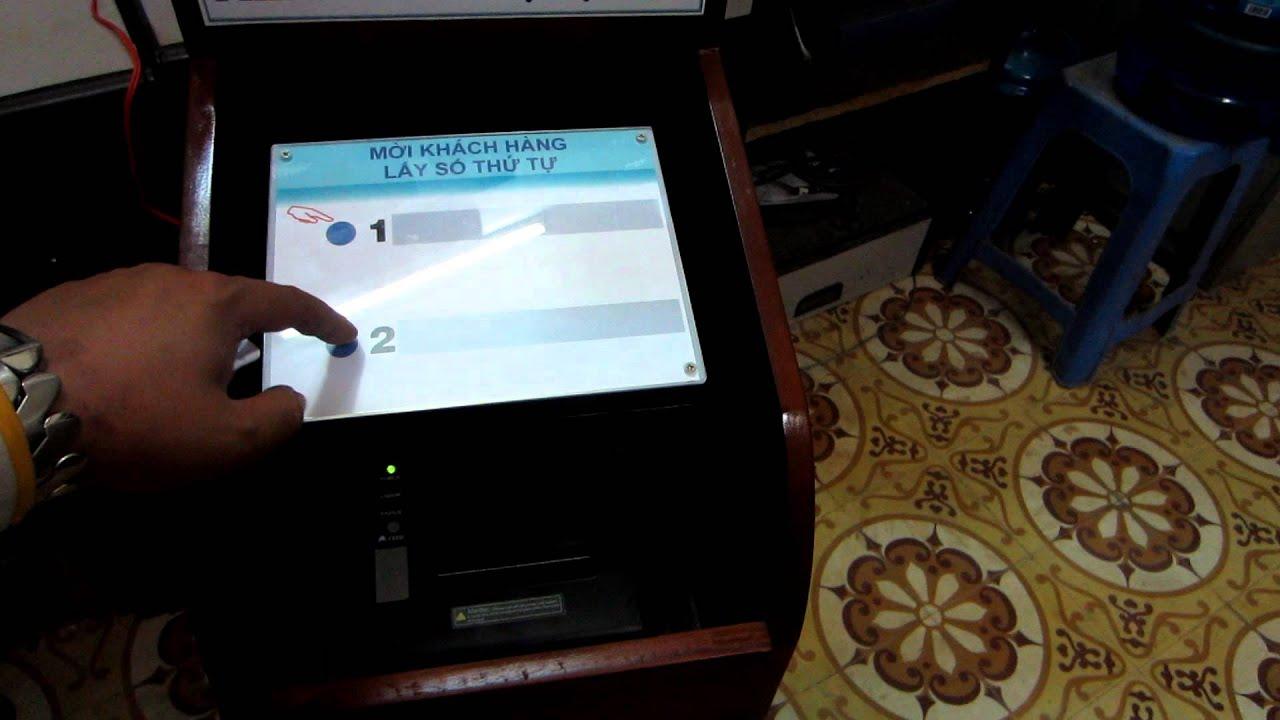 Máy cấp in phiếu số thứ tự http://hethongxephangtudong.net