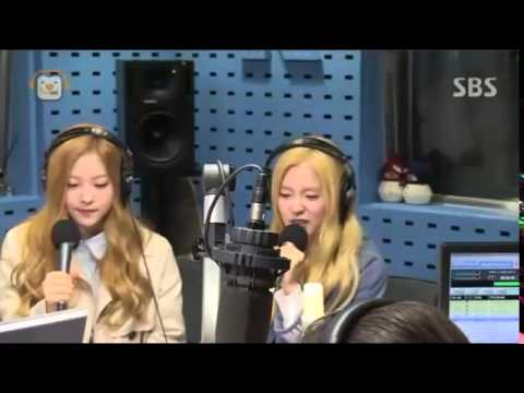 150331 Red Velvet  Rap God Irene Cut Choi Hwa Jung's Power Time Radio