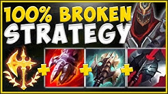 WTF! BRUISER ZED TOP STRATEGY 100% NEEDS TO BE GUTTED! ZED SEASON 10 TOP GAMEPLAY! League of Legends