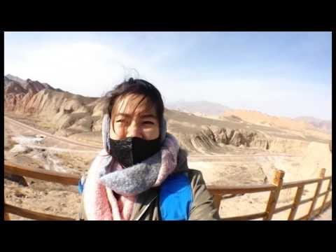 Rainbow Mountain   China Zhangye Danxie  
