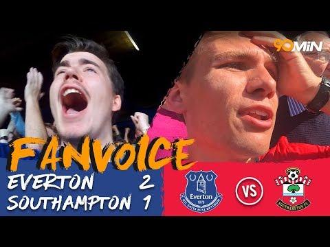 Everton 2-1 Southampton | Walcott, Richarlison and Ings goals mean Everton win 2-1 Southampton!