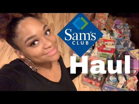 SAMS CLUB STOCK UP HAUL- WHAT EXACTLY DID I BUY?