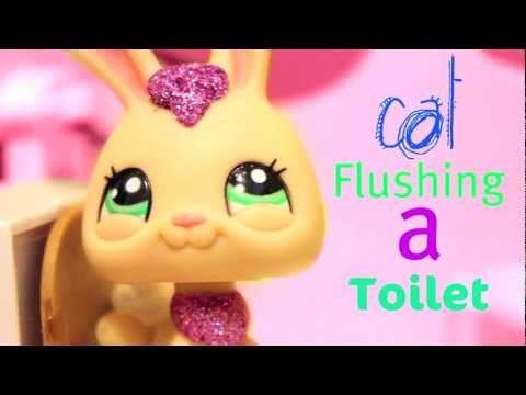 Cat flushing a toilet-Parry Gripp Lps version