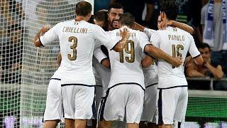 италия - Испания 1:1. Обзор матча. 06.10.2016