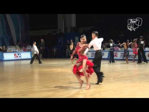 Semi-Final Cha Cha Cha | World Junior II LAT | DanceSport Total