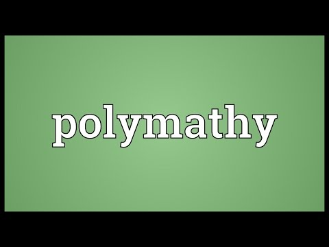 Header of polymathy