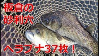群馬県板倉町の砂利穴で人生初釣り堀!【へらぶな釣り初心者】