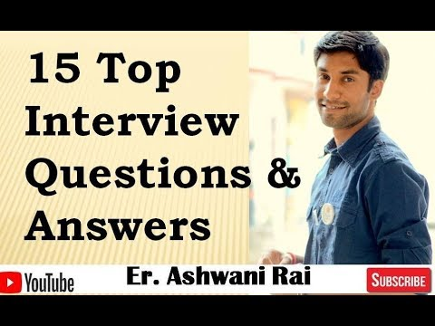 Interview Questions and Answers (English)|| Job Interview ...