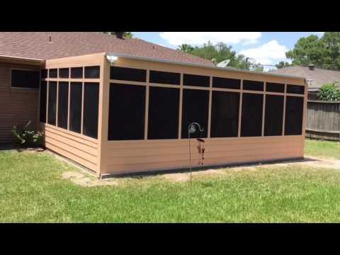Custom Patio Enclosure