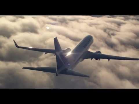 Красивый и удивительный мир воздушных полётов