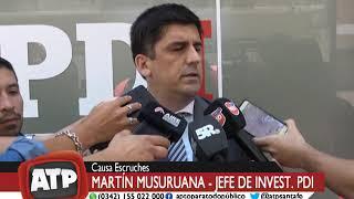 Martín Musuruana, jefe de Inv de la PDI - Causa Escruches - ATP 19 10 18