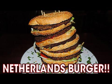 Netherlands Eating Challenge Burger 2.0 in Breda!!
