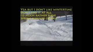 Wintertime blues protest song