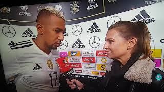 Jerome Boateng Interview Nord Irland vs Deutschland