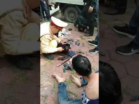 Bắt 2 tên cướp tại đường 35, thị xã Phú Thọ