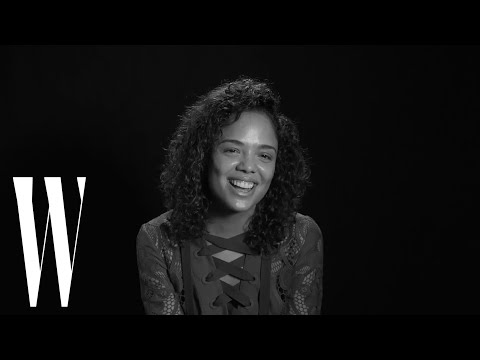 Tessa Thompson on Her Jim Carrey Crush and Love for Harold and Maude | Screen Tests | W Magazine