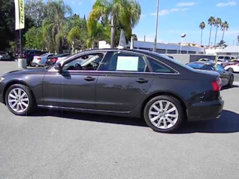 2013 Audi A6 Los Angeles Van Nuys Santa Monica Beverly