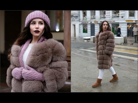 Моя верхняя одежда на зиму 2017/ Зимний гардероб/Шуба, дубленка, пуховик, пальто/ Oh Christina