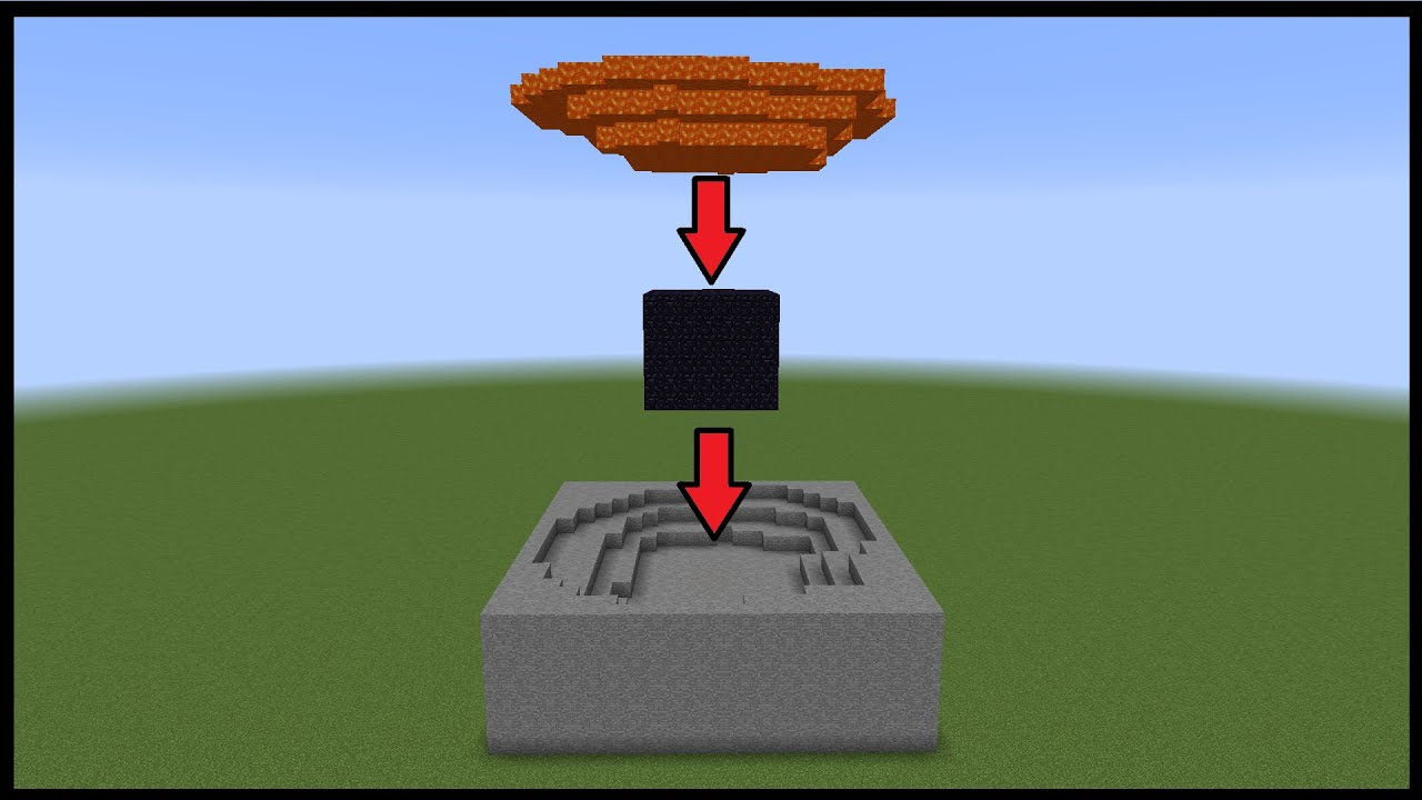 Minecraft Tutorial 5 Water And Waterfall Design
