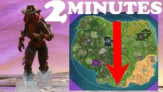FASTEST WAY TO RUN FROM ONE SIDE OF THE MAP TO THE OTHER IN FORTNITE!