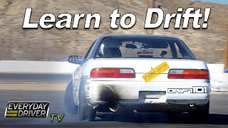 video thumbnail of Learn to Drift - How to and Exercises with Drift 101 - Everyday Driver Adventure