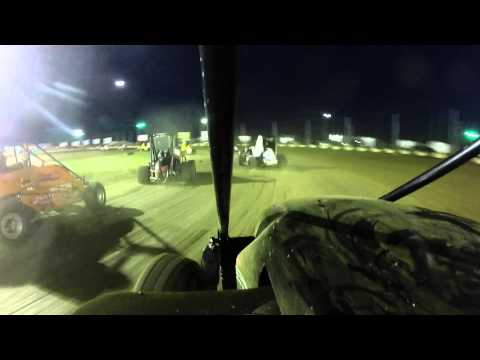 Miami County Speedway, Peru, Indiana non wing senior A main 8/9/2014