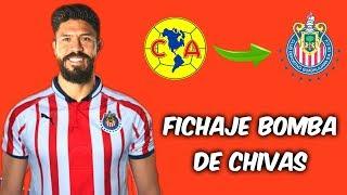 OFICIAL ORIBE PERALTA es NUEVO REFUERZO de CHIVAS para el APERTURA 2019