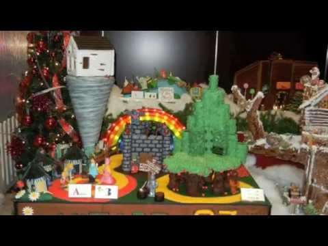 Gingerbread Lane 2012 At The Hyatt The Wizard Of Oz