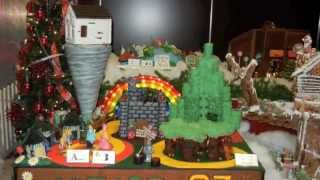 Gingerbread Lane 2012 at the Hyatt - The Wizard of Oz
