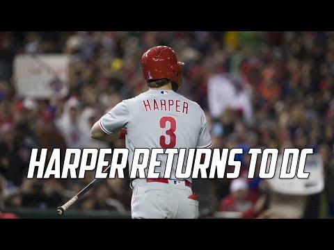 MLB | Bryce Harper Returns to DC