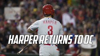 MLB | Bryce Harper Returns to DC