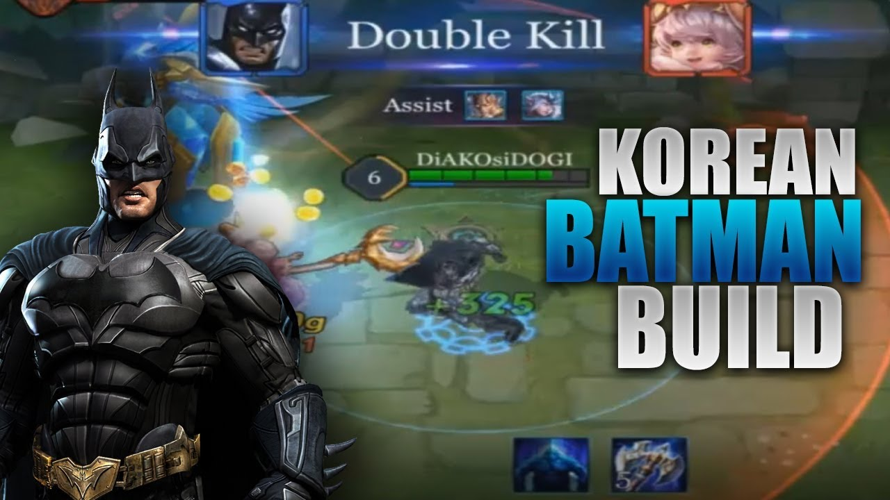 New Korean Batman Build  Vouchers Giveaway Guide Rank Gameplay Arena Of Valor Arcana