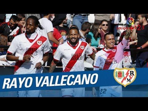 Revive todos los goles del Rayo Vallecano, ascendido a LaLiga Santander