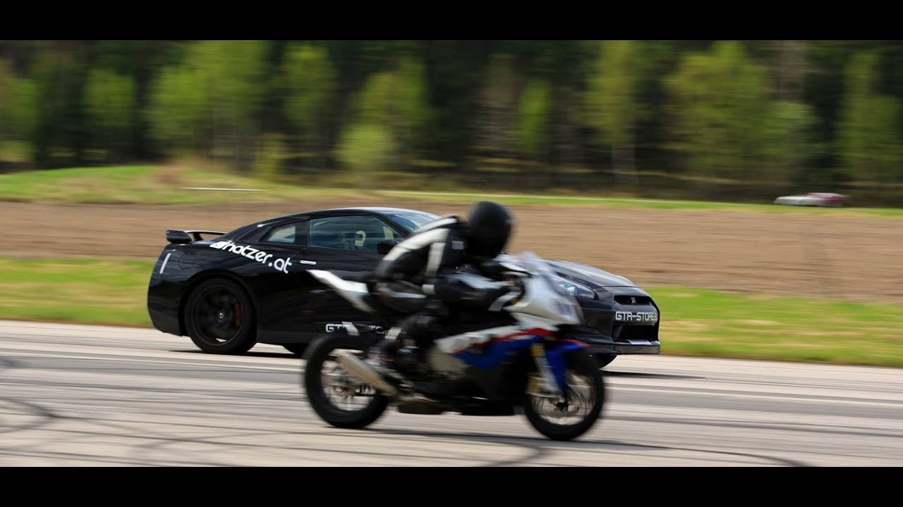 Ams Alpha 12 Nissan Gt R Racegas Vs Bmw S1000rr 2nd