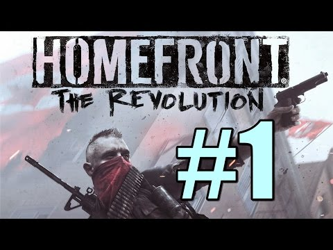 Homefront The Revolution Walkthrough Part 1 - The Voice of Freedom