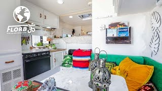 Sizable 4x4 Converted into Modern Tiny House on Wheels