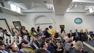 White House holds briefing