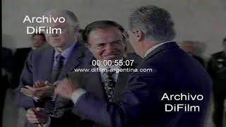 Carlos Menem medidas economicas adoptadas en Brasil 1997