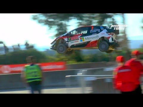 WRC RALLY PORTUGAL 2018 (Jumps & Show @Shakedown) Full HD