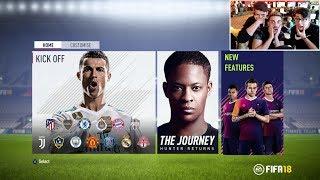 FIFA 18 DEMO EN DIRECTO !!!!