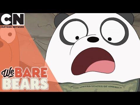 We Bare Bears | Hundred Dollar Baby Bears | Cartoon Network
