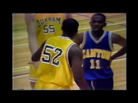 1993-94 Durham College Men's Basketball vs. Canton