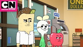 Apple & Onion | Falafel Has the Worst Day of His Life | Cartoon Network
