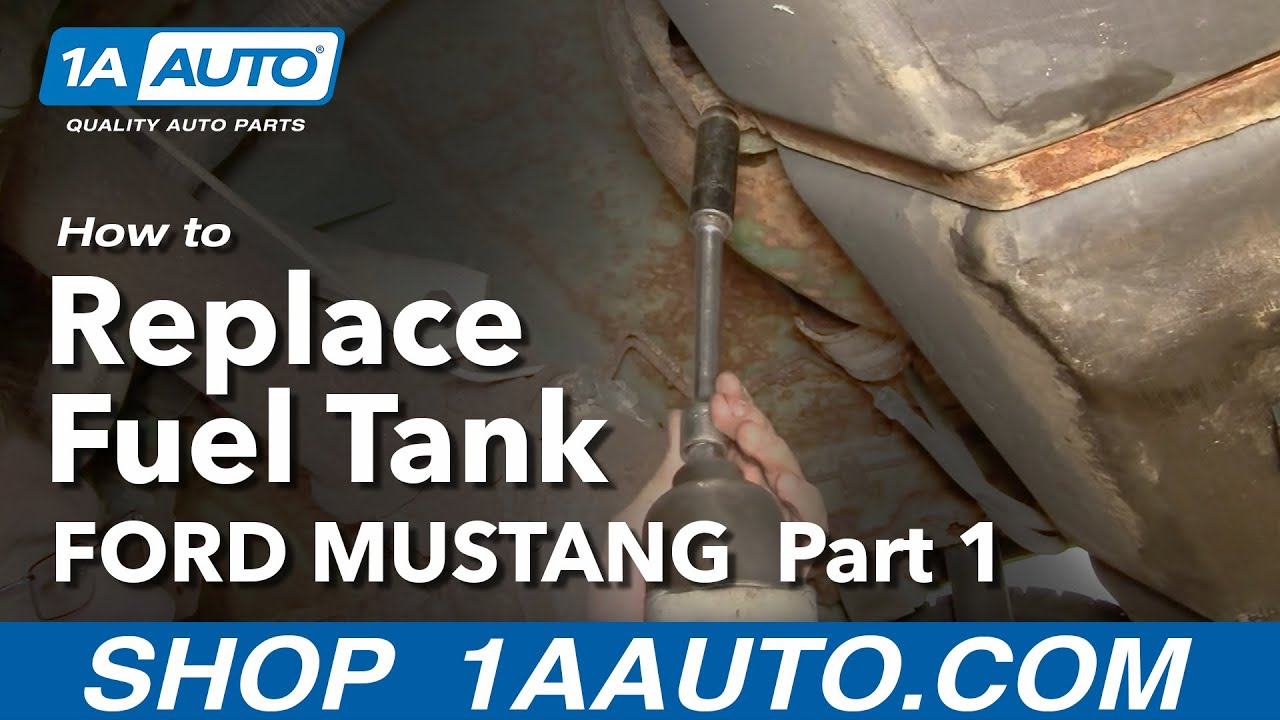 57 Thunderbird Wiring Diagram How To Remove Fuel Gas Tank Ford Mustang Mercury Capri 83