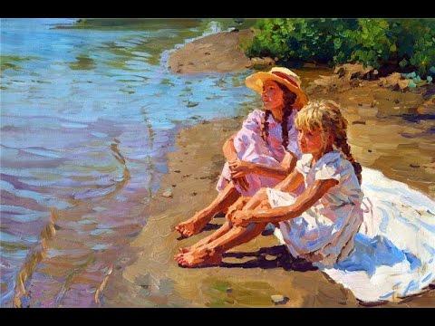 Yuri Krotov (1964) Russian artist  ✽ Love And Respect / Helen O'Hara