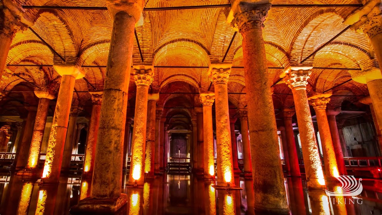 Viking Oceans: Istanbuls Mysterious Basilica Cistern ...